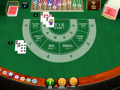 Baccarat online classic video 449479