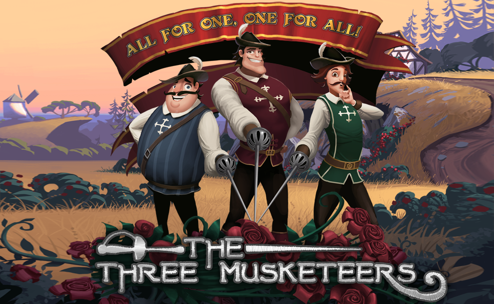 The three musketeers 464887